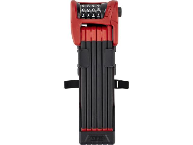 ABUS Bordo Combo 6100/90 SH Zapięcie składane, red